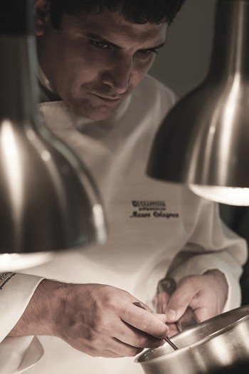 portrait photo du chef Mauro calogreco