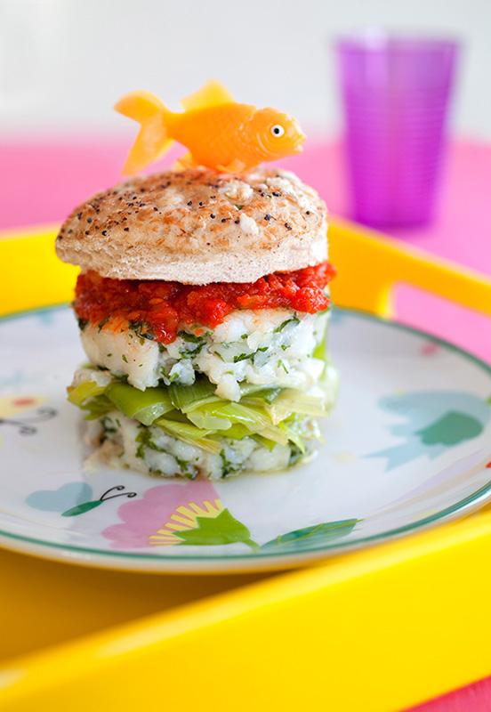 hamburger au colinot recettes pour enfants