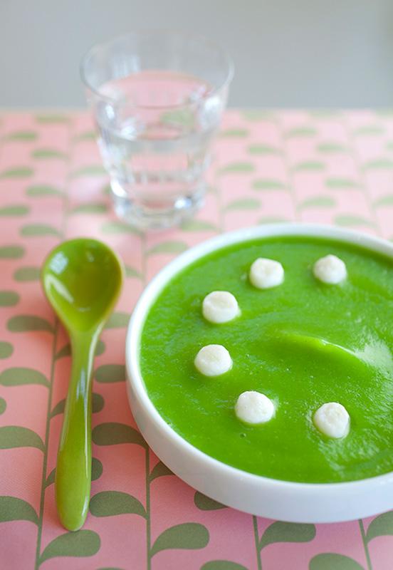 soupe de courgettes recettes pour enfants