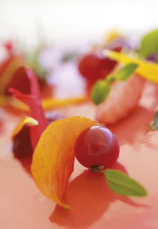 photographie culinaire restaurant le mirazur menton