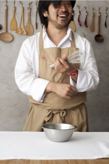 portrait du chef keisuke matsushima nice